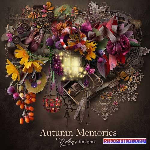 Осенний скрап-комплект - Осенние воспоминания