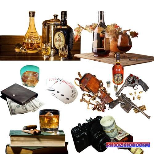 Клипарт – Композиции с виски