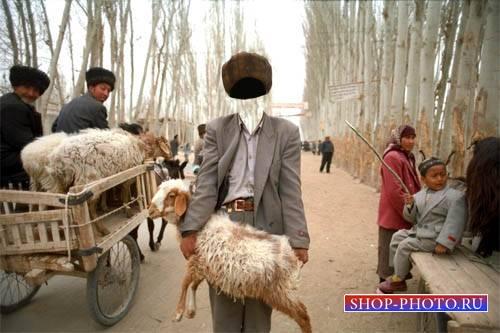 Шаблон для мужчин - Продавец овец