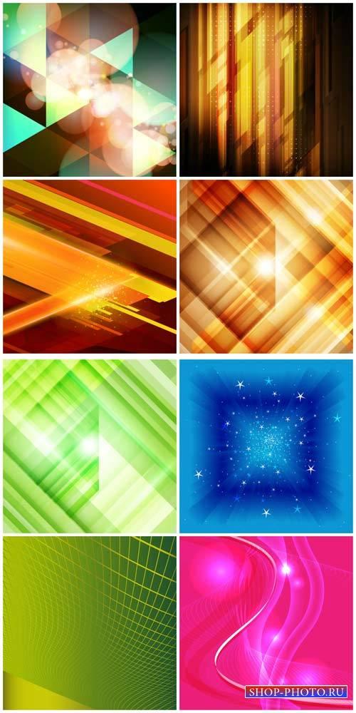 Векторные фоны, абстракция / Vector backgrounds, abstract