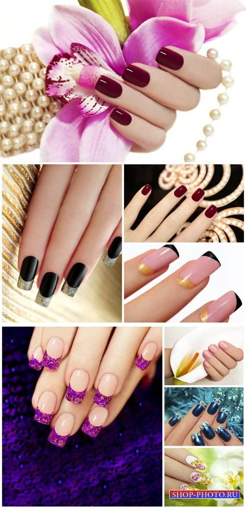 Маникюр, красивые женские руки / Manicure, beautiful female hands - Stock P ...