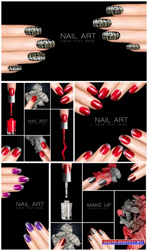 Маникюр, лак для ногтей / Manicure, nail polish - Stock photo #1