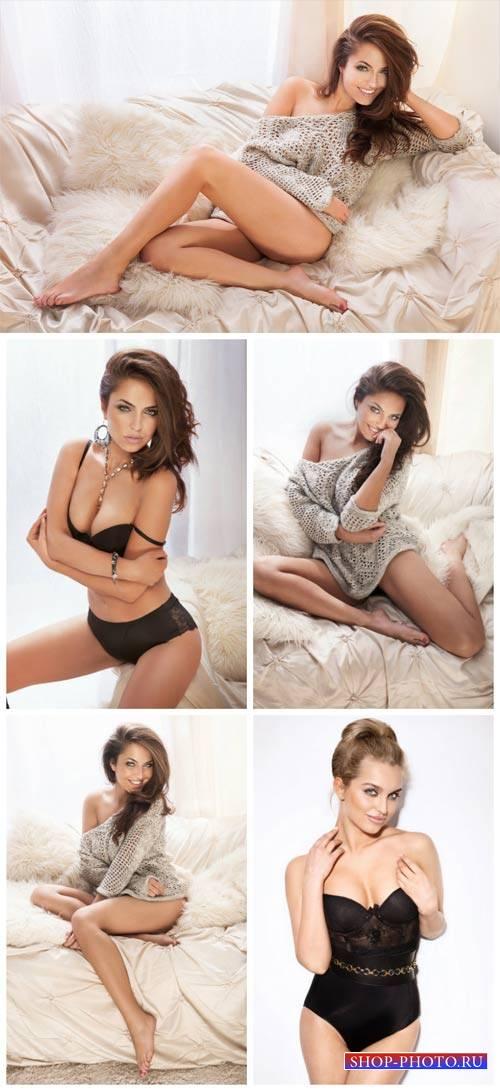 Обворожительные девушки #2 / Charming girls, women in lingerie - Stock Phot ...