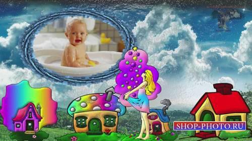 Детский проект для ProShow Producer - Зонтик