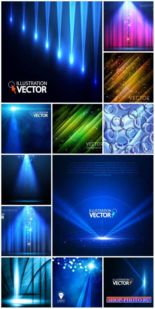Vector backgrounds with abstraction # 223