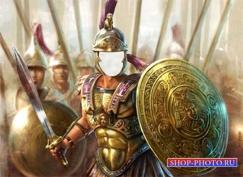Шаблон для мужчин - Римский воин