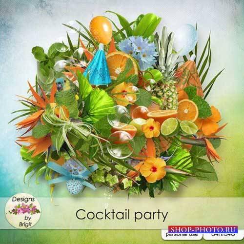 Праздничный скрап-комплект - Коктейльная вечеринка