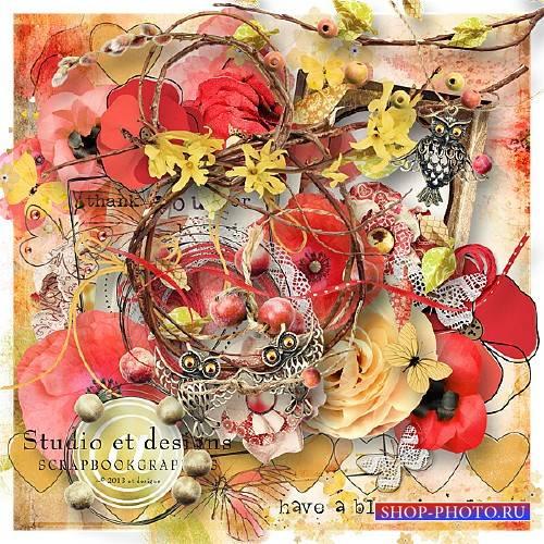 Цветочный скрап   – Have a Blooming Day