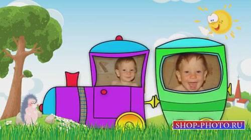 Детский проект для ProShow Producer - Улыбка