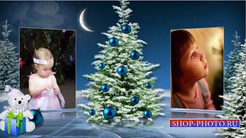Новогодний проект для ProShow Producer - Новогодняя сказка