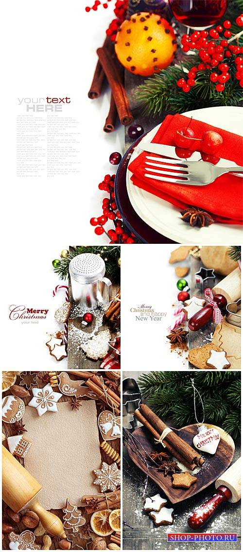 Christmas composition # 2 - stock photos