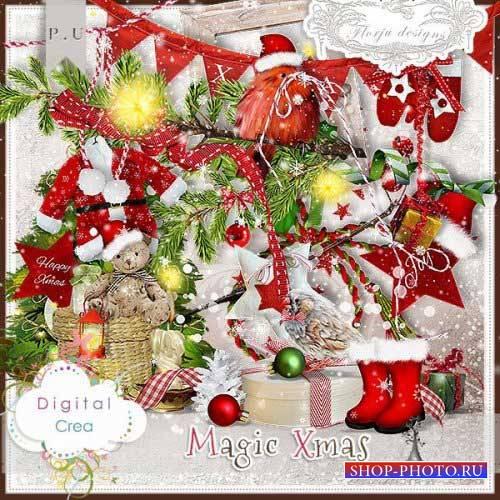 Рождественский скрап-комплект - Рождественское волшебство