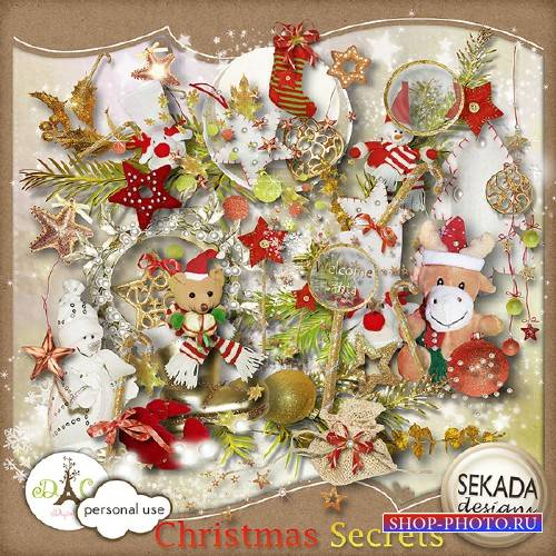 Рождественский скрап – Рождественские секреты