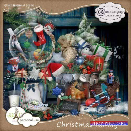 Рождественский скрап-комплект - Семейное Рождество