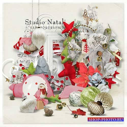 Новогодний скрап-комплект - Very Merry