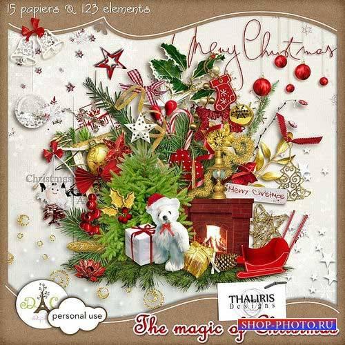 Рождественский скрап-комплект - Магическое Рождество