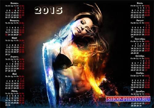 Календарная сетка - Лед и огонь