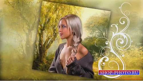 Романтический проект для ProShow Producer - Матушка река