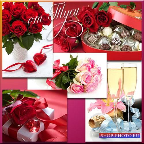 Букеты дивных роз