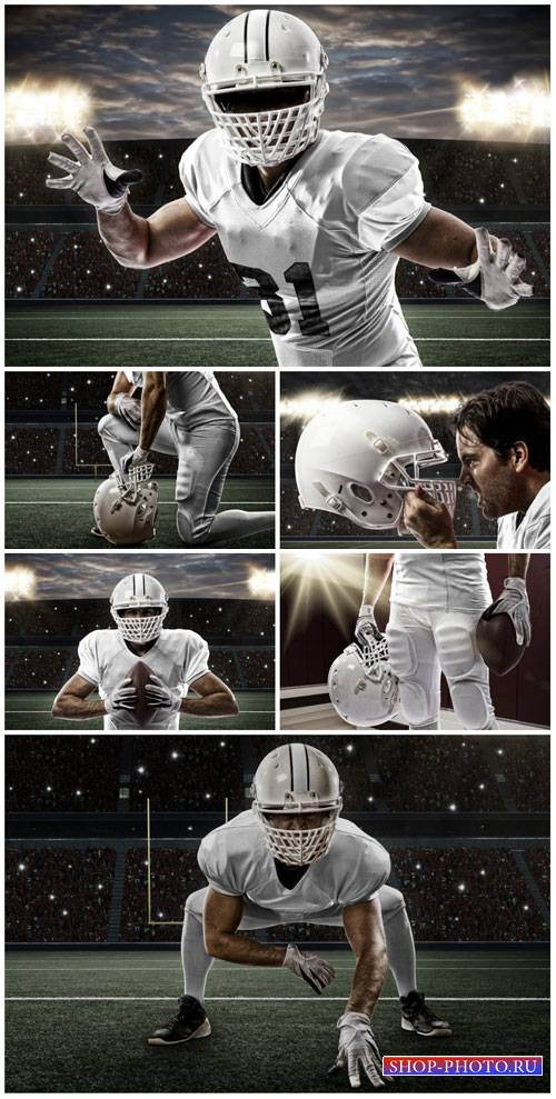 American football, sports - stock photos
