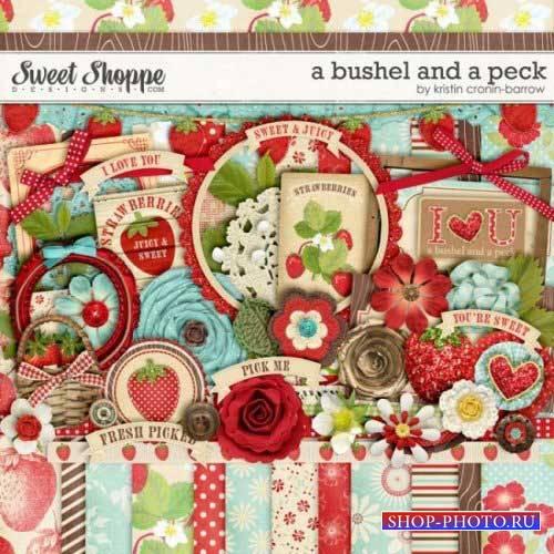 Винтажный скрап-комплект - A Bushel and a Peck