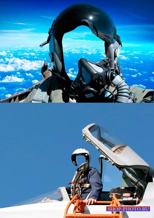 Шаблоны для фотошопа  - Пилоты