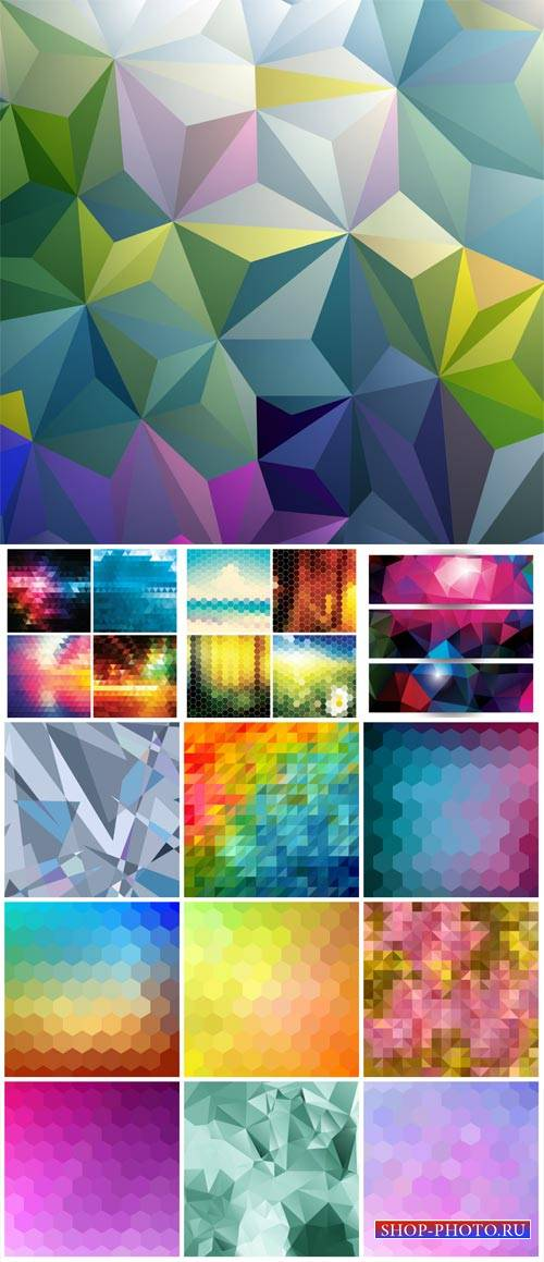 Abstract background, vector backgrounds with different texture
