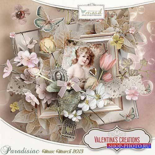 Винтажный скрап-комплект - Paradisiac