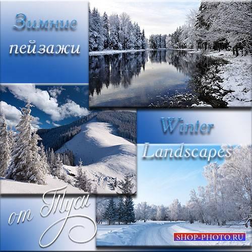 Впечатления в зимних шелках - Клипарт