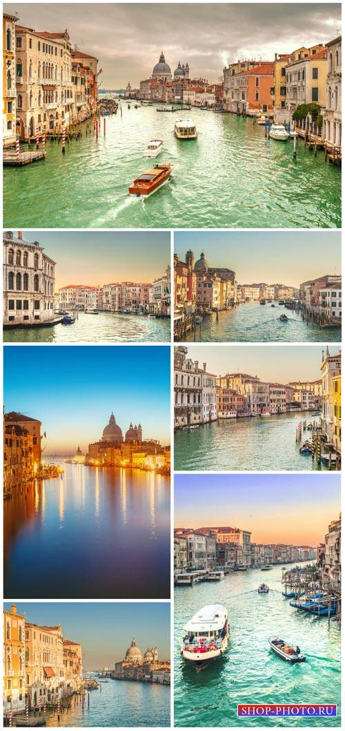 Venice, city on the water - Stock Photo