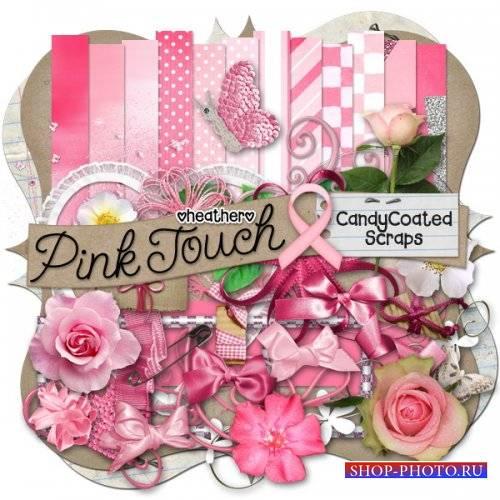 Цветочный скрап-комплект - Pink Touch