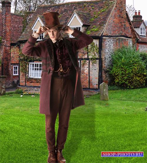 Шаблон  мужской - Как денди лондонский одет