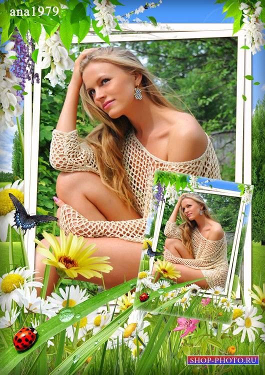 Рамка для Photoshop – Летний день