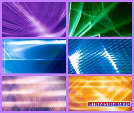 Сборка футажей с световыми эффектами