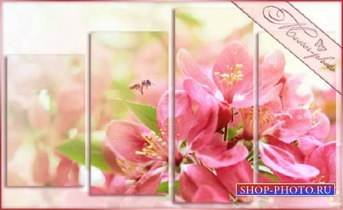 Модульная картинка - Дыхание весны