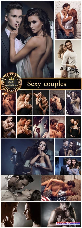 Sexy couples - stock photos