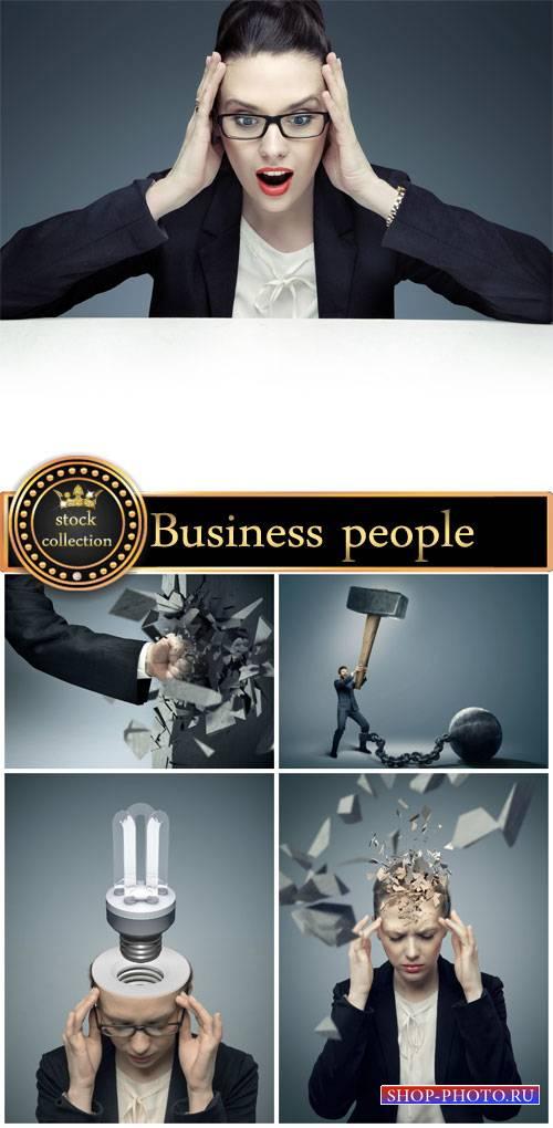 Business people creative - stock photos