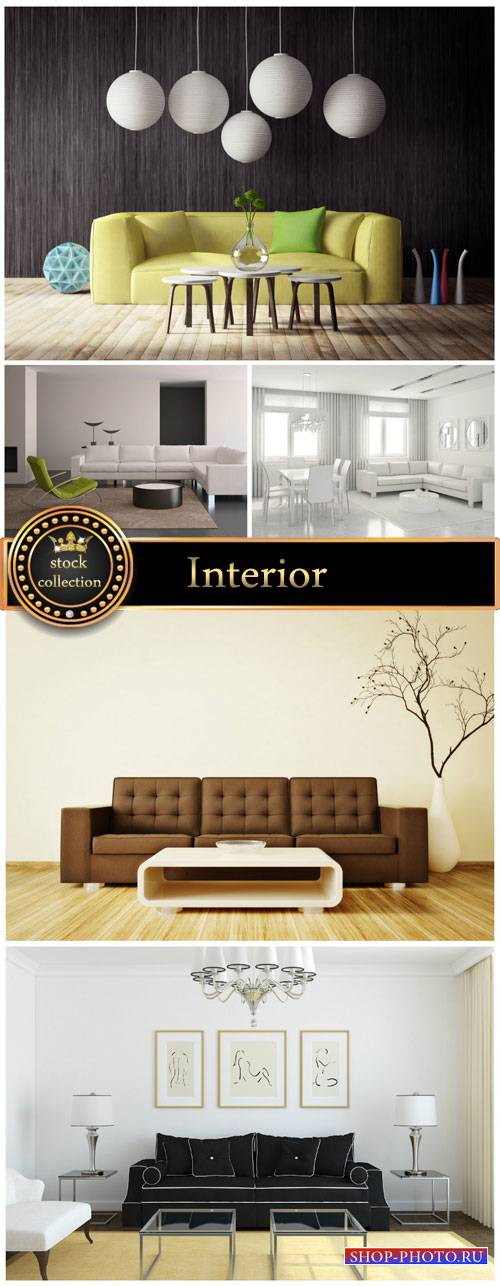 Interior design - stock photos