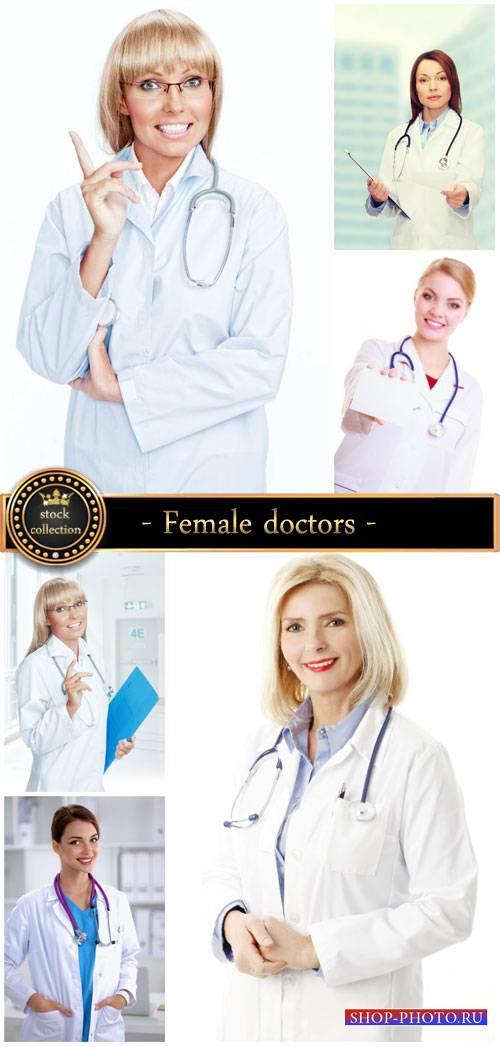 Female doctors - Stock photo