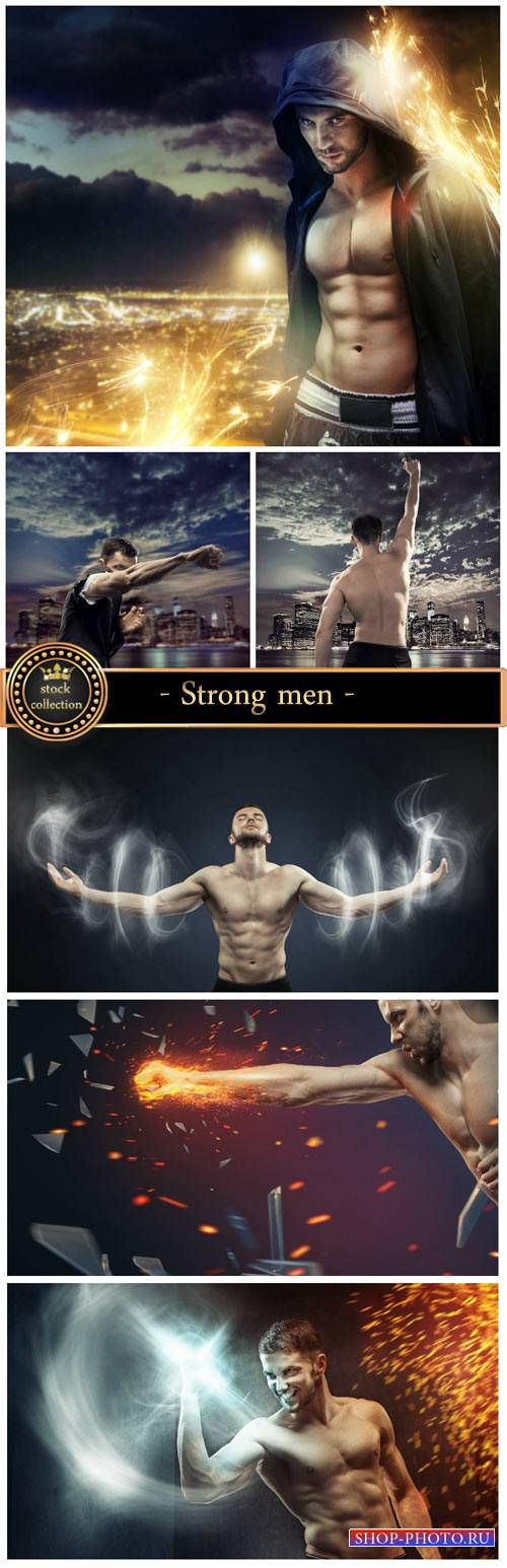 Strong men #4 - creative stock photos