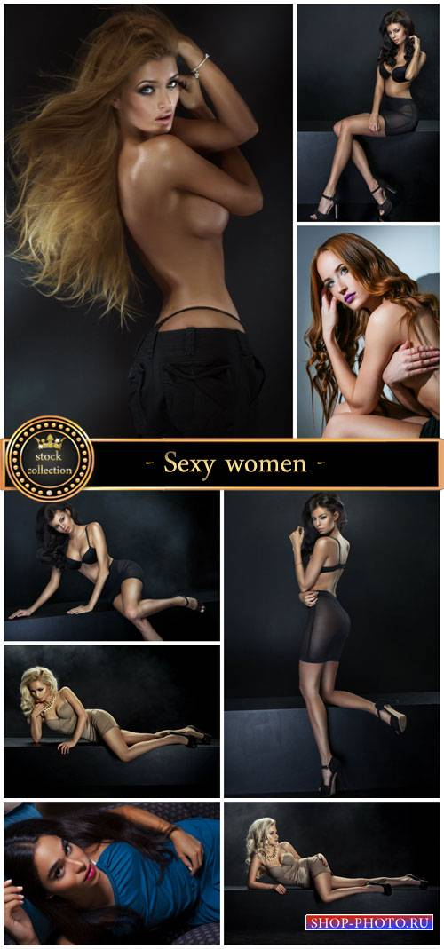 Sexy women, beautiful girls - Stock Photo