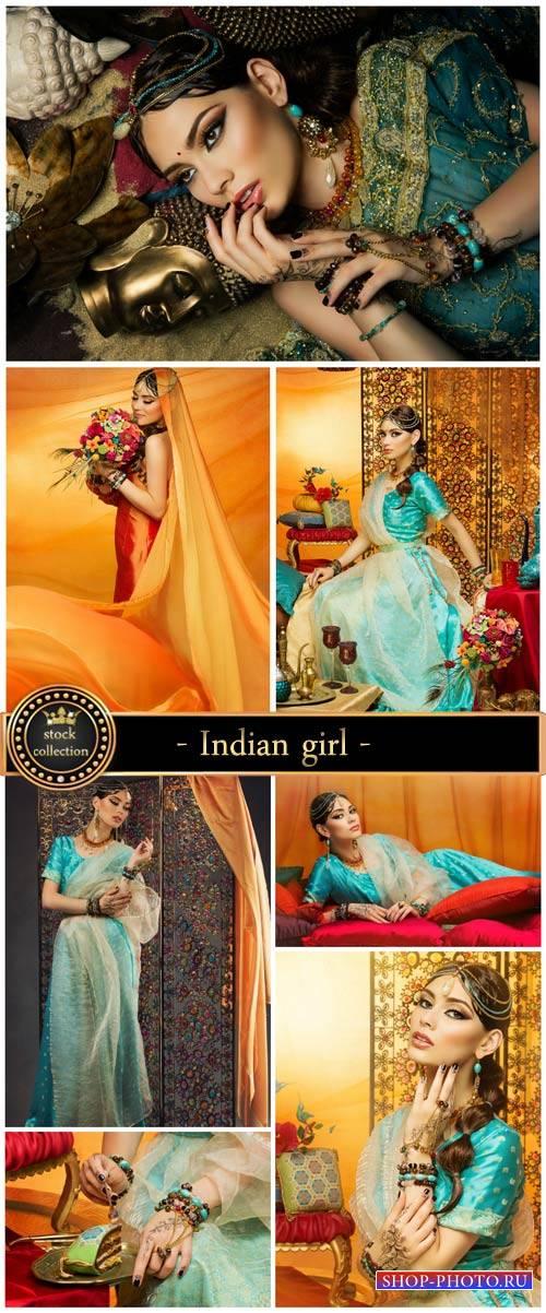 Indian girl - stock photos