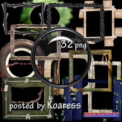 Клипарт png - Оригинальные рамки на прозрачном фоне