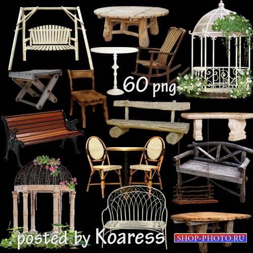 Мебель для сада, парка, дачи - столы, скамейки, беседки, табуреты, качели - ...