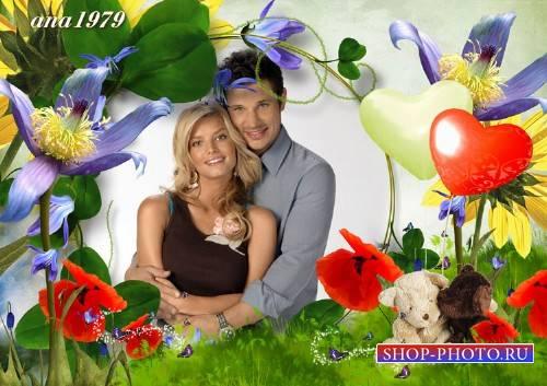 Рамка для photoshop – В мире любви и нежности