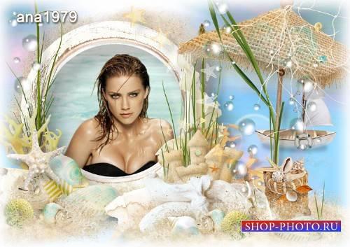 Рамка для photoshop – Море зовет