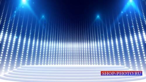 Футаж - Подиум с освещением