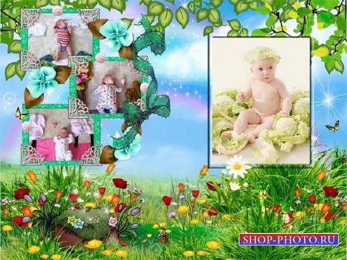 Детская рамка - Поляна сказок