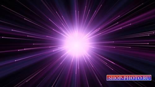 Футаж - Фиолетовый взрыв