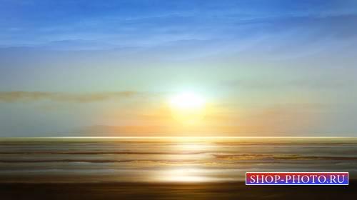 Футаж - Морской прибой